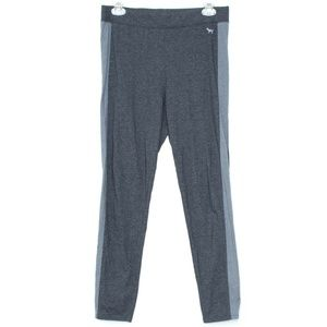 PINK VS Gray Leggings Womens Large E2